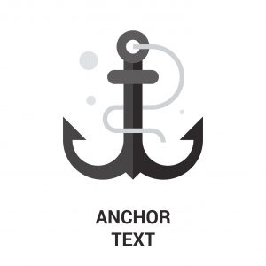 link anchor text