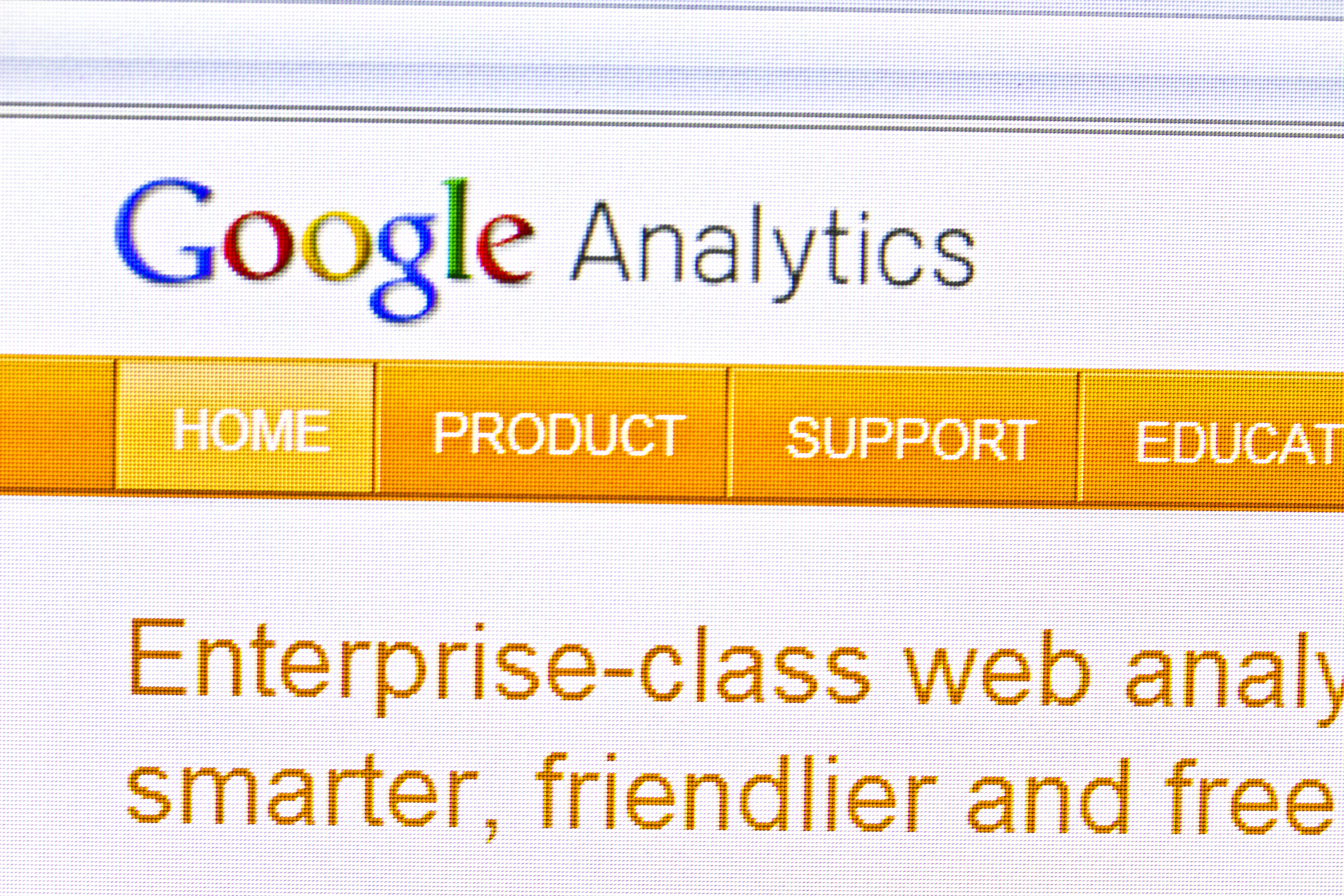 add google analytics